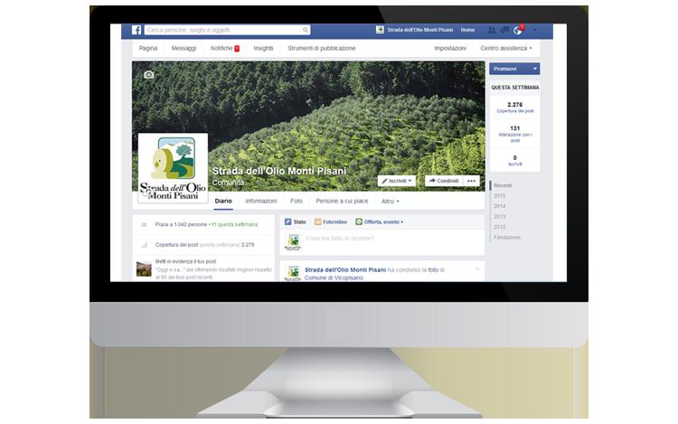 Strada dell'Olio Monti Pisani pagina Facebook