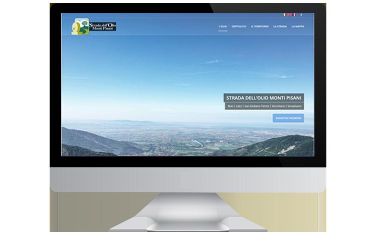 Strada dell'Olio Monti Pisani sito web